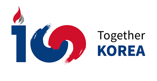Centennial Anniversary of March 1st Independence Movement and Korea Provisional Government. Together Korea.(Web Banner for Centennial Anniversary of March 1st Independence Movement and Korea Provisional Government)
