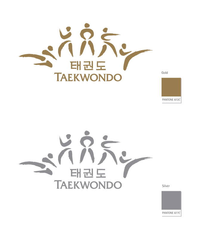 Symbol Mark Basic Type. TEAKWONDO.